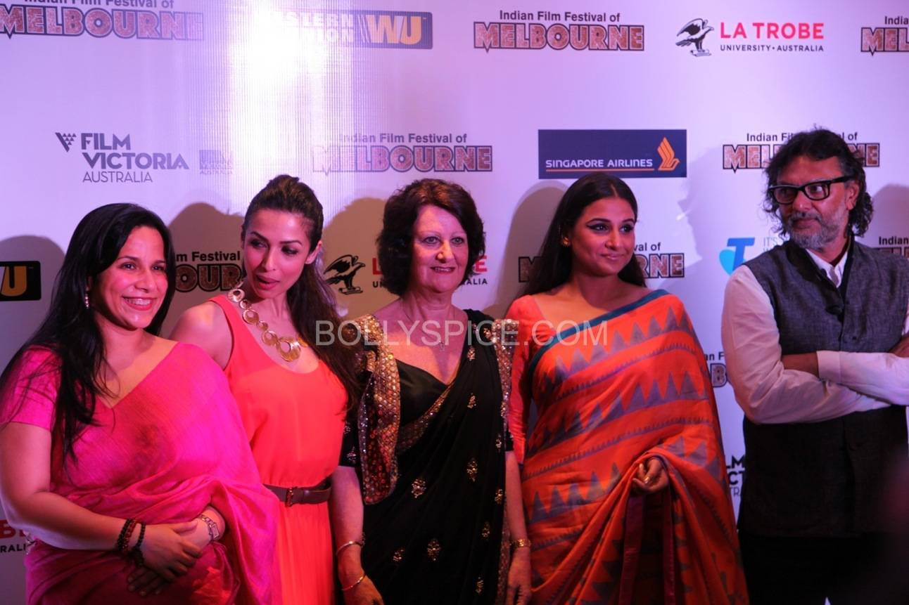 vidyabalanatiffm8 Brand Ambassador Vidya Balan at the Indian Film Festival of Melburne Conference (IFFM)
