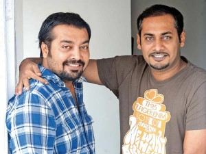 13oct Abhinav Anuraj Kashyup Besharam 300x225 Anurag Kashyap helps out brother Abhinav on Besharam