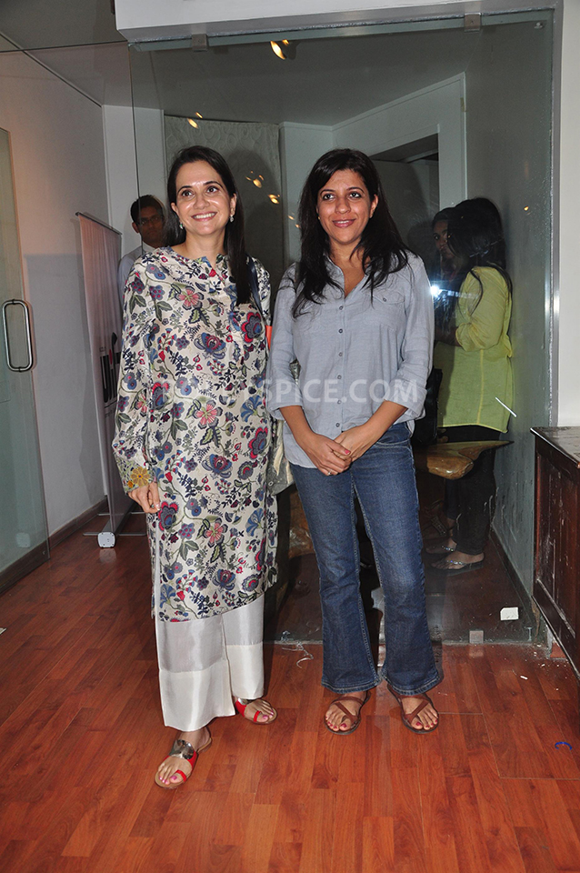13oct Anupama ZoyaBook02 Anupama Chopra in conversation with Zoya Akhtar for her book launch