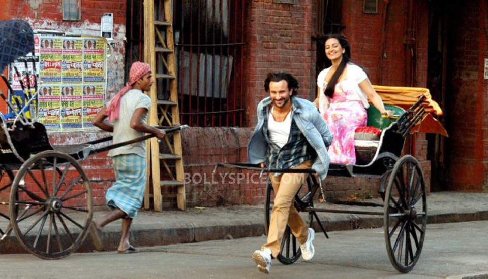 13oct BullettRaja still01 Saif turns up the heat in Bullett Raja
