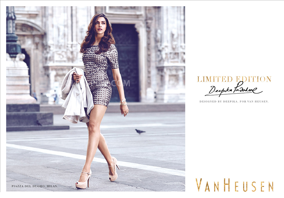 "13oct Deepika VanHeusen ""A little something for all my girlfriends"" says Deepika on her collaboration with Van Heusen"