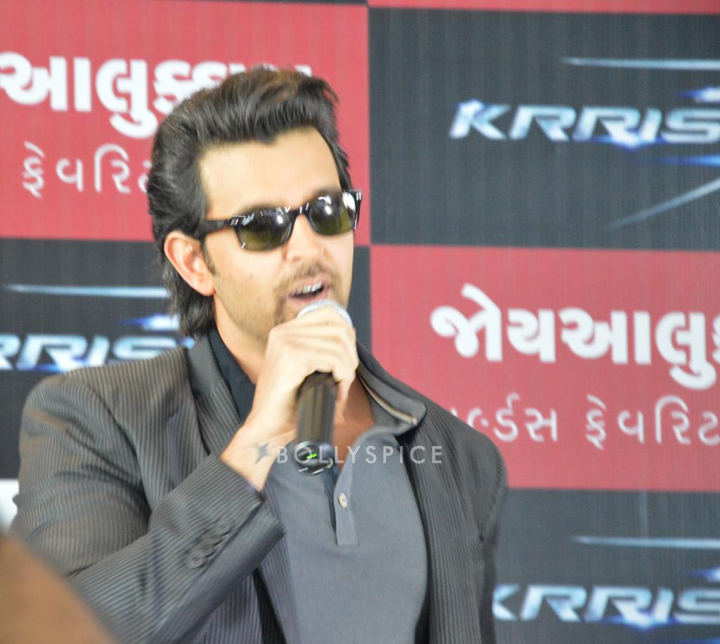 IN PICTURES: Hrithik Roshan promoting with Joyalukkas Krrish 3 in ...