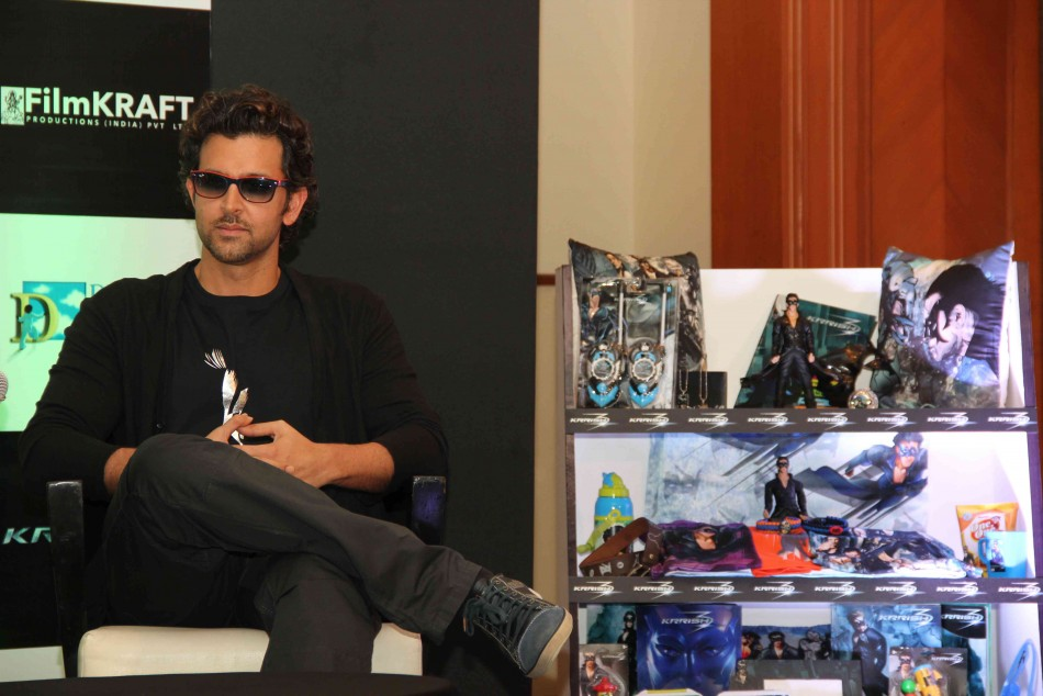 13oct Krrish3Merchandise05 Hrithik Roshan unveils Krrish 3 merchandize