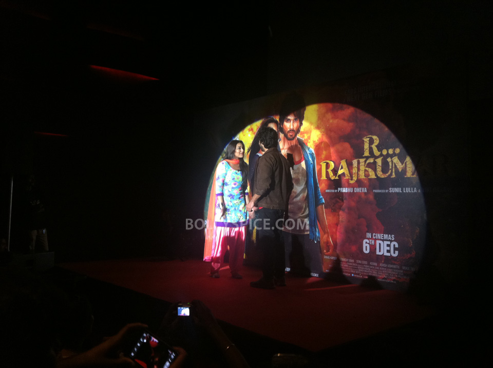 13oct RRajkumarLaunch01 First trailer of R...Rajkumar launched