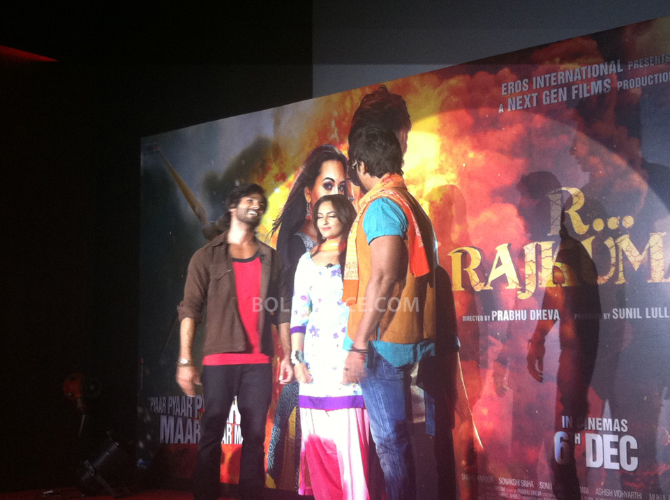 13oct RRajkumarLaunch03 First trailer of R...Rajkumar launched