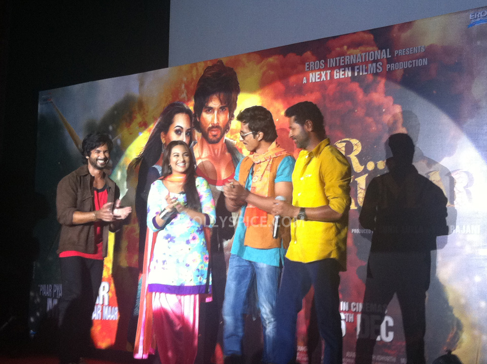13oct RRajkumarLaunch04 First trailer of R...Rajkumar launched