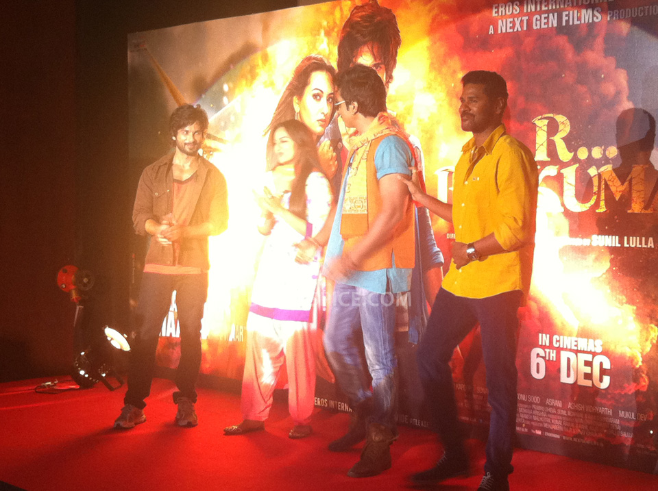 13oct RRajkumarLaunch05 First trailer of R...Rajkumar launched