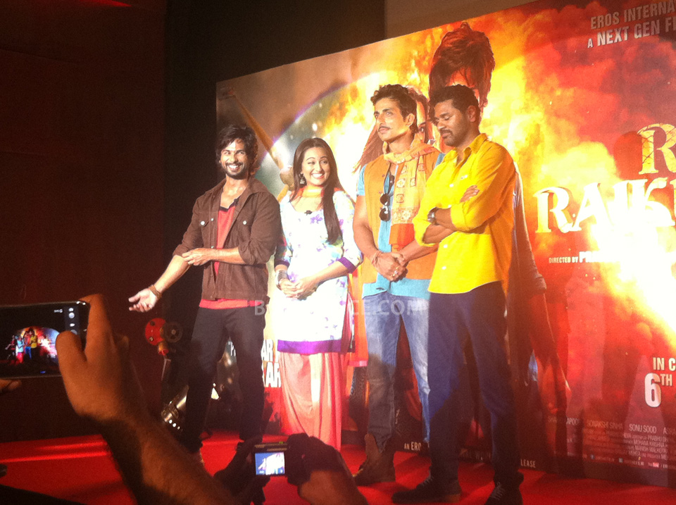 13oct RRajkumarLaunch06 First trailer of R...Rajkumar launched