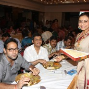 13oct Rani Bhog11 185x185 IN PICTURES: Rani Mukerji and Kajol serves bhog at North Bombay Sarbojanin Durga Puja