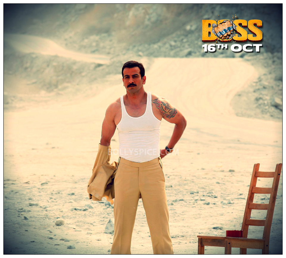 13oct Ronit Boss I worked hard for my action scene in Boss: Ronit Roy