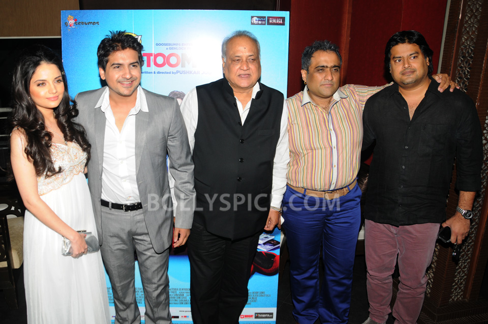"13oct SalimMerchant Huff02 Salim Merchant Launches Music of Pushkar Jog's ""Huff It's Too Much"""