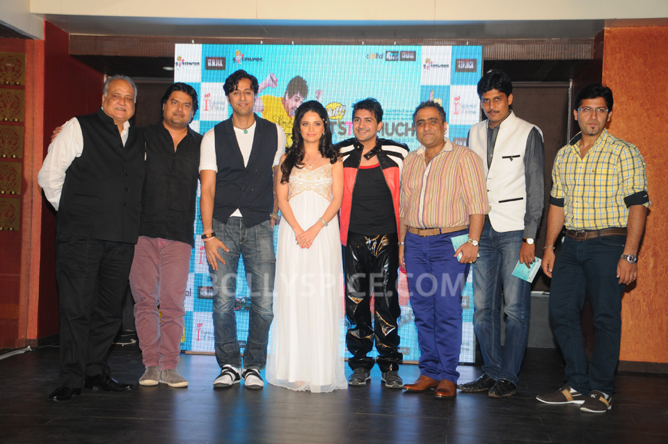"13oct SalimMerchant Huff03 Salim Merchant Launches Music of Pushkar Jog's ""Huff It's Too Much"""