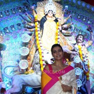 13oct SarbajaninDurgaPuja10th07 185x185 The North Bengal Sarbajanin Durga Puja 2013