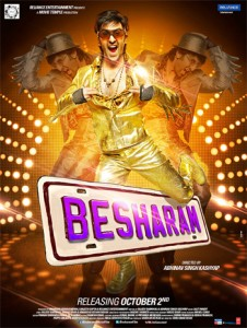 13oct besharammovie 226x300 Besharam sees massive decline at the box office