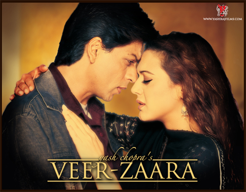 13oct framing vz 01 FRAMING MOVIES: Take Twenty seven: Veer Zaara (2004)