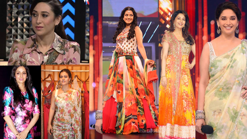 90s Trend Alert – Bollywood Goes Floral!