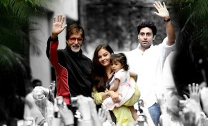 Aaradhya Bachchan daadji 300x181 When Aaradhya sang Happy Birthday Daadji for Amitabh Bachchan!