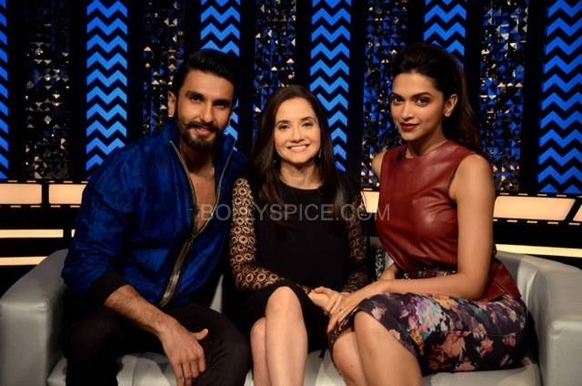 AnuRanveerDeepika1 Sneak Peek: Ranveer and Deepikas first joint interview on Anupama Chopras show, The Front Row