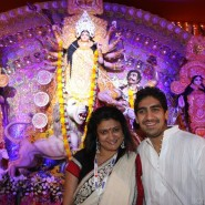 Ashtami celebrations at The North Bengal Sarbajanin Durga Puja10 185x185 Rani and Kajol and Pritam The Ashtami celebrations at The North Bengal Sarbajanin Durga Puja on October 12th