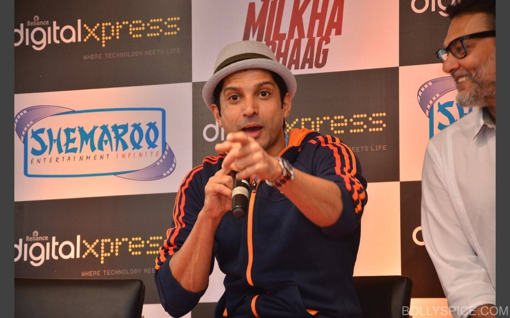 BMBDVDlaunch1 Bhaag Milkha Bhaag DVD Launch!