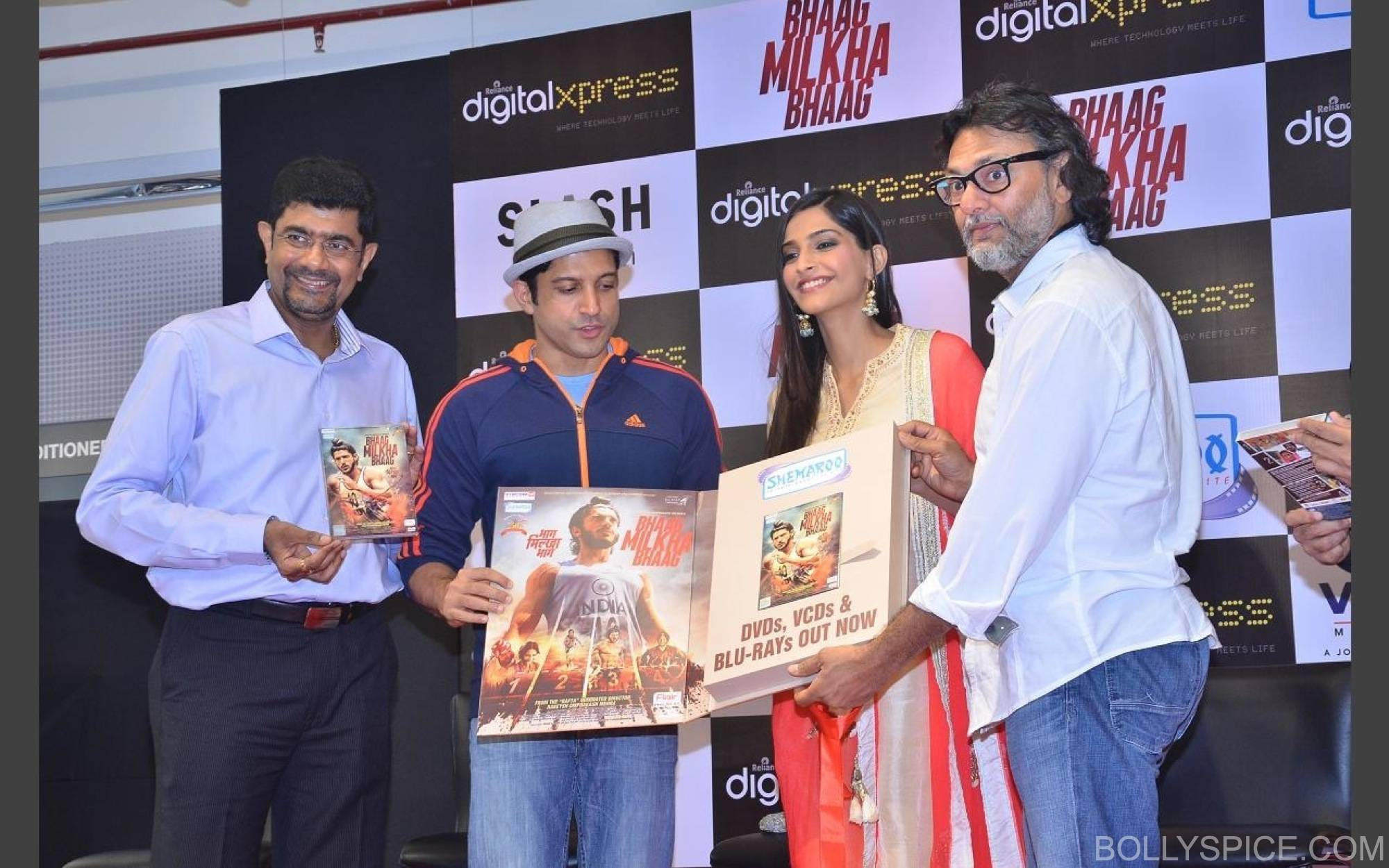BMBDVDlaunch2 Bhaag Milkha Bhaag DVD Launch!