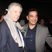 Costa Gavras and Kamal Haasan_at the Opening Ceremony_15th Mumbai Film Festival(MAMI)