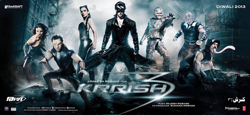 Krrish3characterposter Krrish 3 now hits cinemas on November 1st!