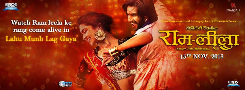 Ram Leela Song Creative The romantic Lahu Munh Lag Gaya   Ram leela!