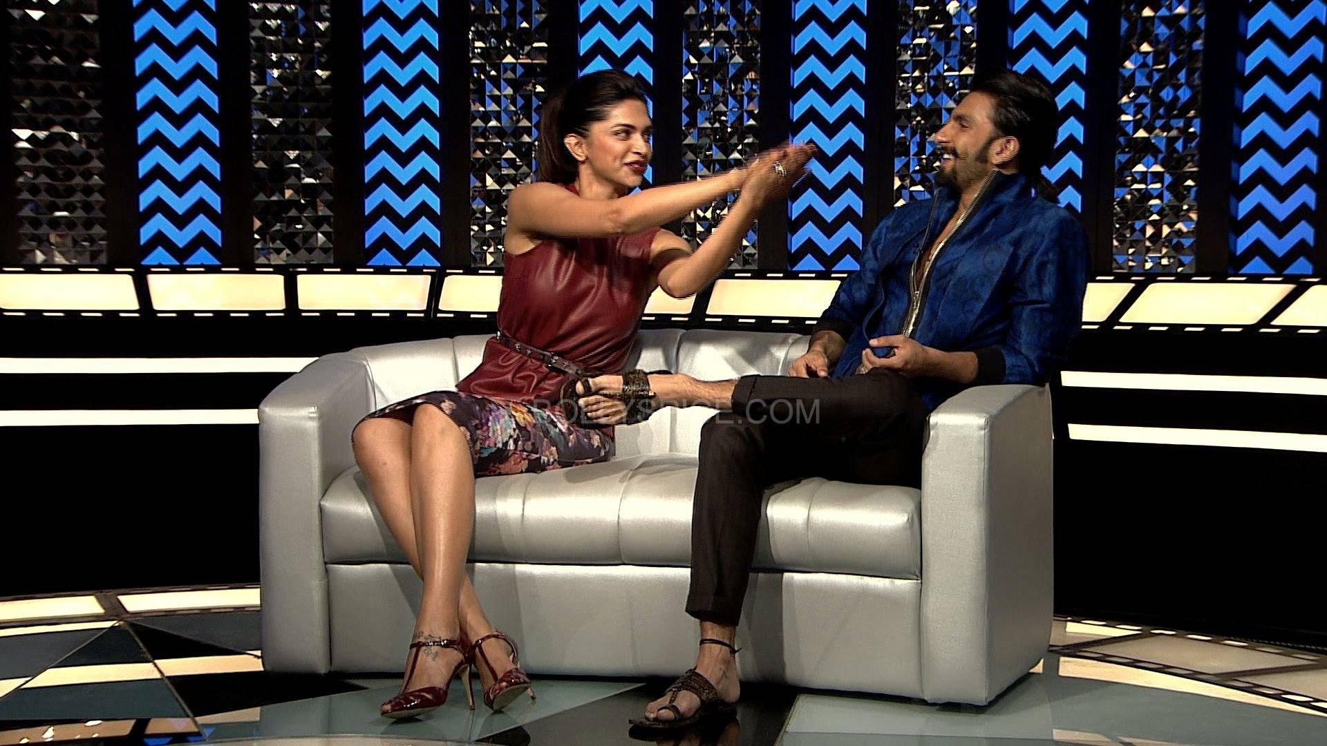 Ranveer Deepika 1 Sneak Peek: Ranveer and Deepikas first joint interview on Anupama Chopras show, The Front Row