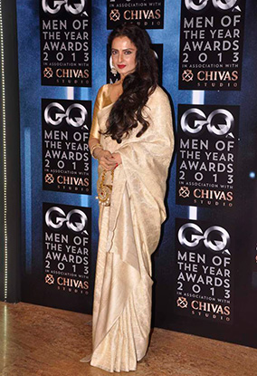 Rekha Whos Hot, Whos Not: GQ Awards 2013