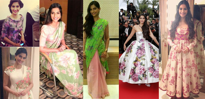 SONAM Trend Alert – Bollywood Goes Floral!
