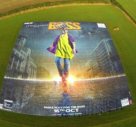 boss world record poster Boss Akshay Kumars World Record