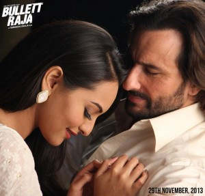 bullettrajasaamne 300x287 Saif Ali Khan: Bullett Raja is a rather entertaining take on a mafia guy