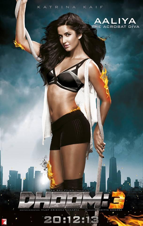 dhoom3 aaliya katrinakaif Meet Aaliya   Katrina Kaif in Dhoom 3