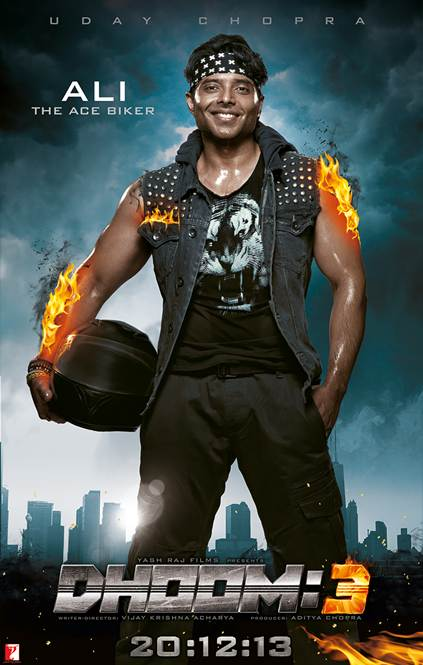 dhoom3aliposter Dhoom:3 in 3 days!