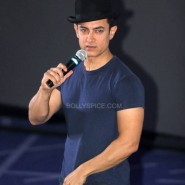 dhoom3trailerlaunch1 185x185 Aamir Khan and Abhishek Bachchan at Dhoom:3 Trailer release at IMax