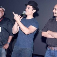 dhoom3trailerlaunch10 185x185 Aamir Khan and Abhishek Bachchan at Dhoom:3 Trailer release at IMax