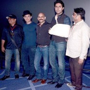 dhoom3trailerlaunch14 185x185 Aamir Khan and Abhishek Bachchan at Dhoom:3 Trailer release at IMax