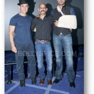 dhoom3trailerlaunch16 185x185 Aamir Khan and Abhishek Bachchan at Dhoom:3 Trailer release at IMax