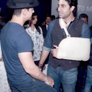 dhoom3trailerlaunch19 185x185 Aamir Khan and Abhishek Bachchan at Dhoom:3 Trailer release at IMax