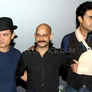 dhoom3trailerlaunch3 185x185 Aamir Khan and Abhishek Bachchan at Dhoom:3 Trailer release at IMax