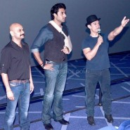 dhoom3trailerlaunch8 185x185 Aamir Khan and Abhishek Bachchan at Dhoom:3 Trailer release at IMax