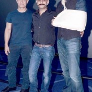 dhoom3trailerlaunch9 185x185 Aamir Khan and Abhishek Bachchan at Dhoom:3 Trailer release at IMax