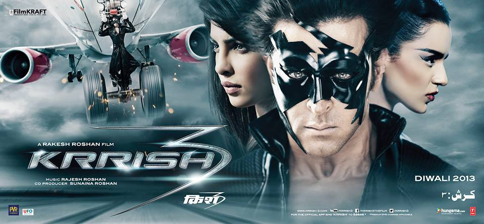 krrish3newposter Hrithik and Priyanka coming to London for Krrish 3!