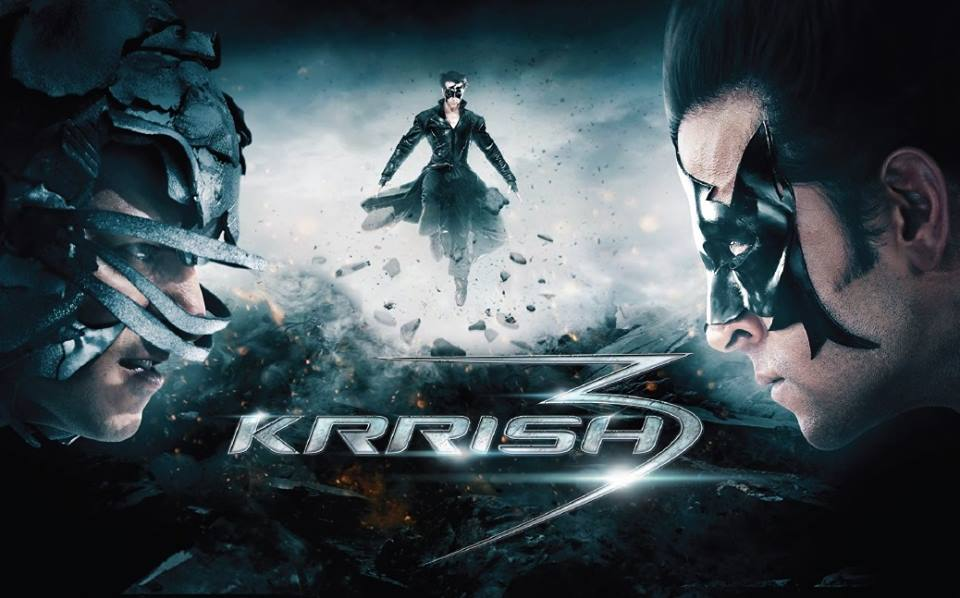 krrish3newposter1 Hrithik all set to enjoy huge opening with Krrish 3