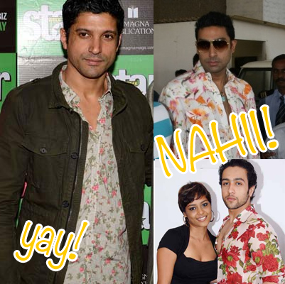 men Trend Alert – Bollywood Goes Floral!