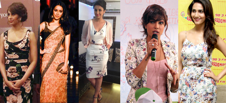other Trend Alert – Bollywood Goes Floral!