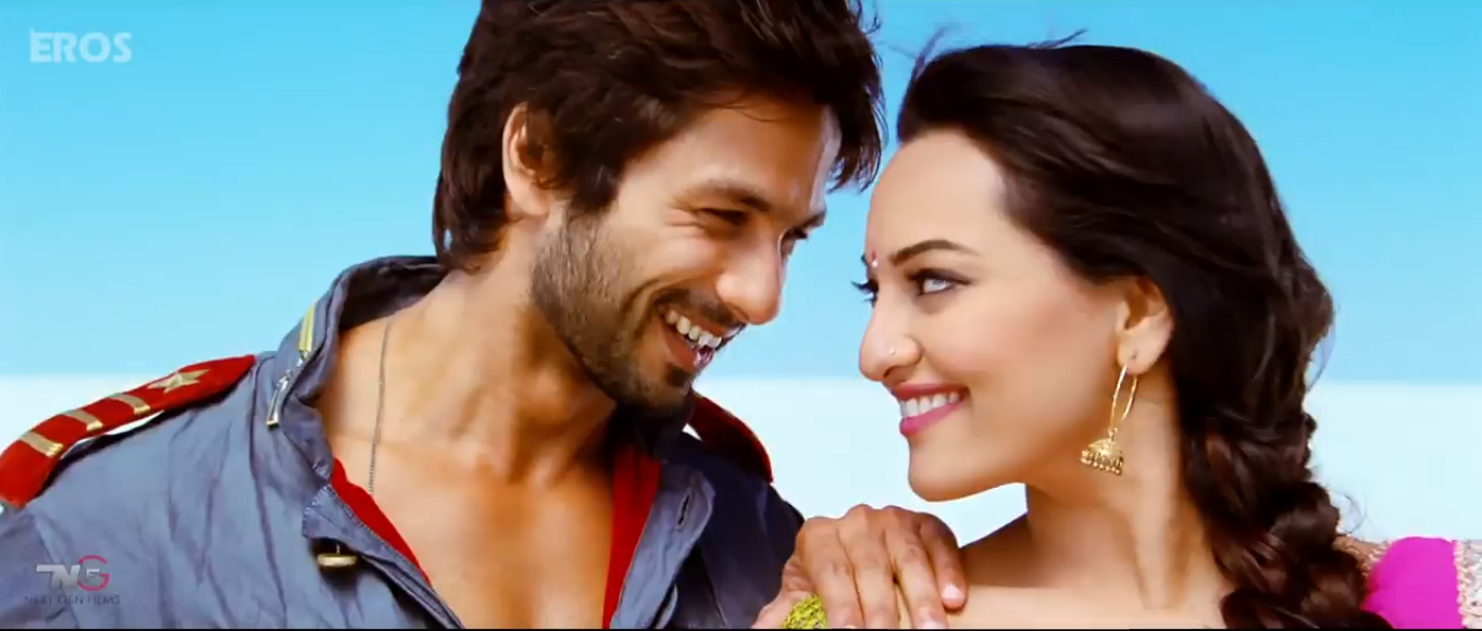 shahid sonakshi RR Shahids R....Rajkumar Makes an Impact and hits big views!