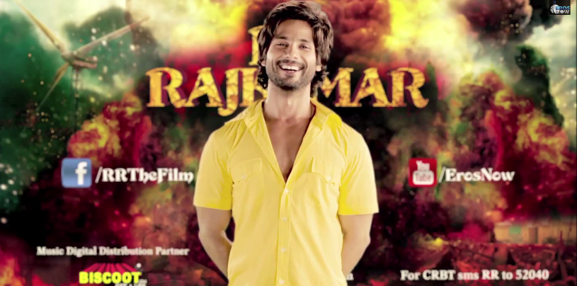 shahidrrajkumartrailer01 Shahids R....Rajkumar Makes an Impact and hits big views!