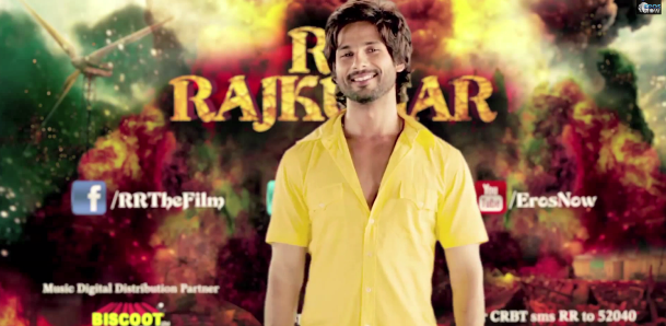 shahidrrajkumartrailer04 Shahids R....Rajkumar Makes an Impact and hits big views!